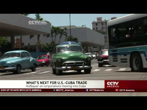 Gary Hufbauer of Peterson Institute discusses Cuban economy