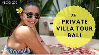 BALI TRAVEL VLOG - POOL VILLA - TOUR