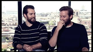 Henry Cavill & Armie Hammer Funny Moments 2015 part 1