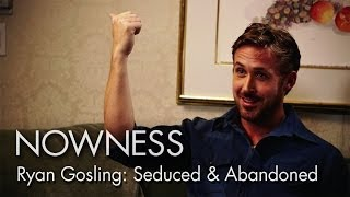 "Ryan Gosling & Alec Baldwin in an excerpt from ""Seduced and Abandoned"" by James Toback"