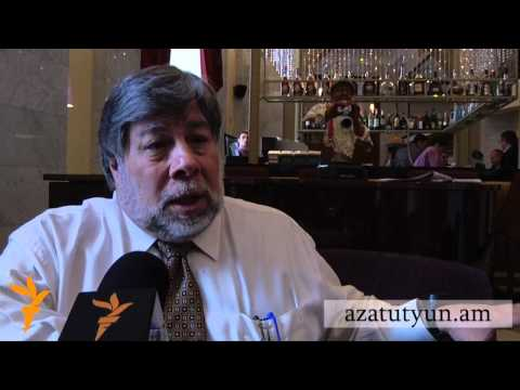 Apple co-founder Steve Wozniak in Armenia