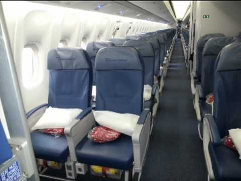 Delta airlines 767 300 economy comfort class seat review for Delta main cabin vs delta comfort