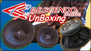 "Unboxing Crescendo PWX Speakers & Ft1 Tweeters | 6"" & 10"" Mid Range Speaker Drivers & Neo Tweets"