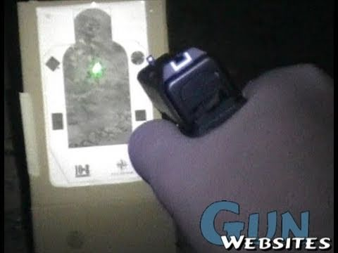 Shooting Viridian C5L Green Laser @ Night