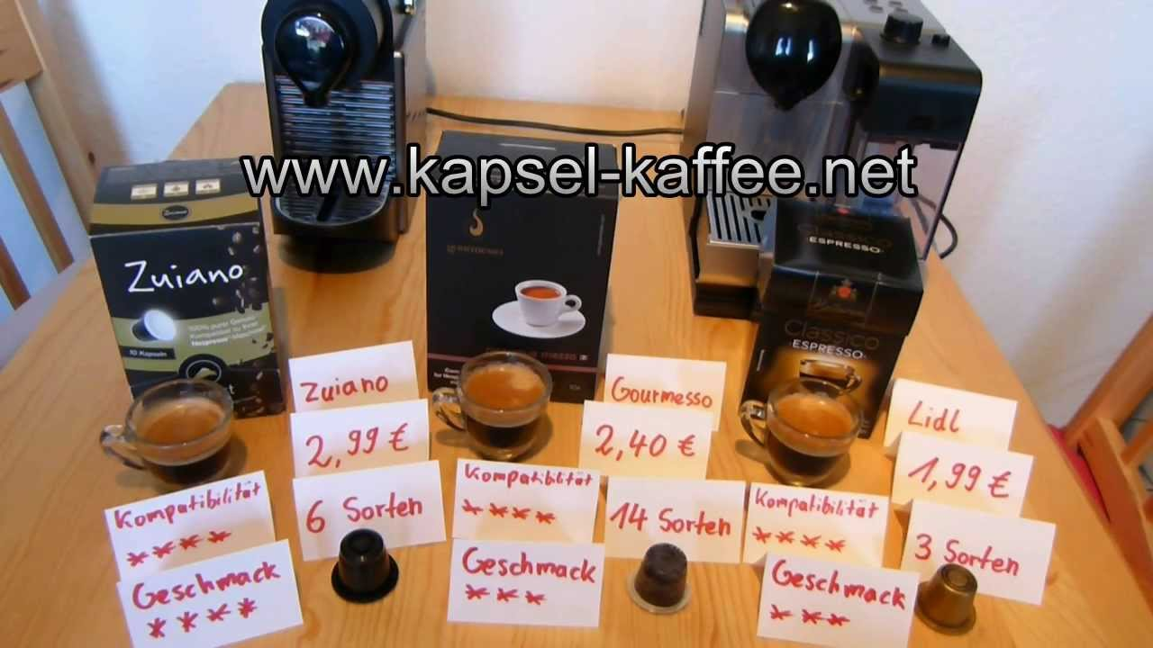 3 nespresso alternativen unter 30 cent kapsel im test youtube. Black Bedroom Furniture Sets. Home Design Ideas
