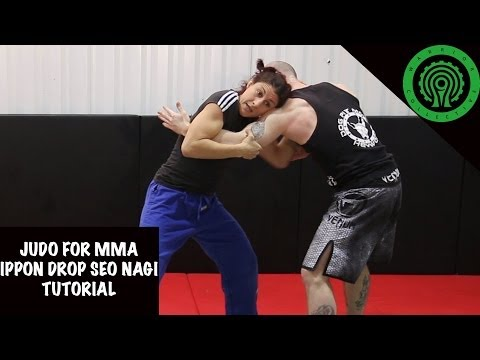 Judo for MMA No Gi Drop Seo Nagi (Drop Shoulder Throw) Tutoriall Image 1