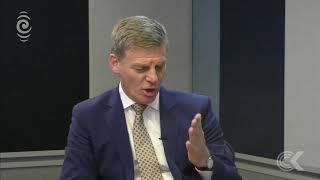 Bill English joins John Campbell in the Checkpoint studio