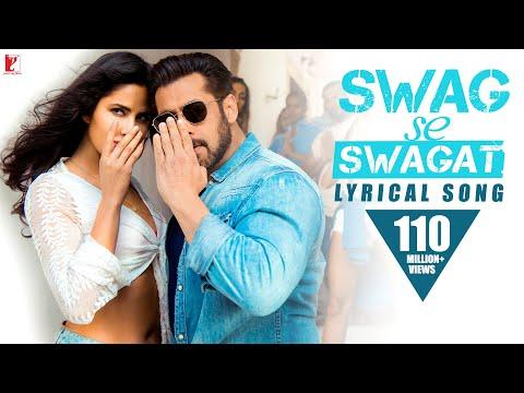 Lyrical: Swag Se Swagat Song with Lyrics | Tiger Zinda Hai |Salman Khan| Katrina Kaif| Irshad Kamil