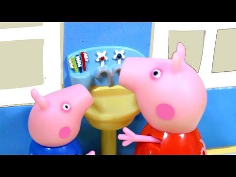 Свинка Пеппа. Мультфильм для детей из игрушек.