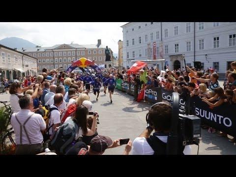 Старт гонки Red Bull X-Alps 2013 (парапланеризм)