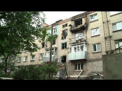Ukraine: situation humanitaire critique à Slaviansk