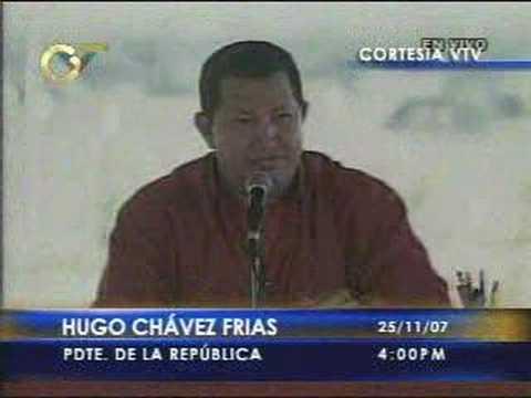 Hugo Chavez vs Alvaro Uribe