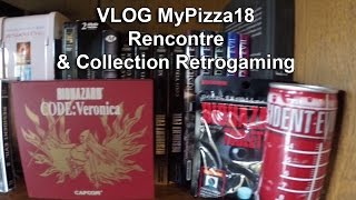 VLOG avec MyPizza18 - Rencontre & Collection Retrogaming