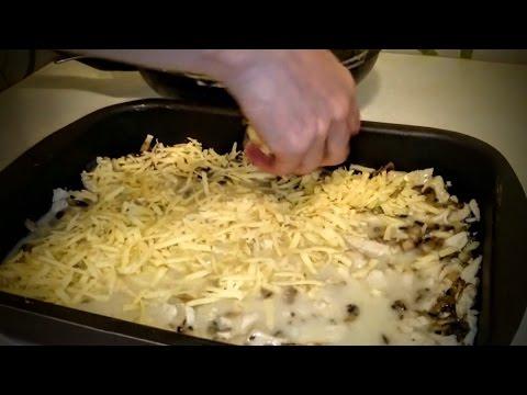 Как приготовить жульен в духовке - видео