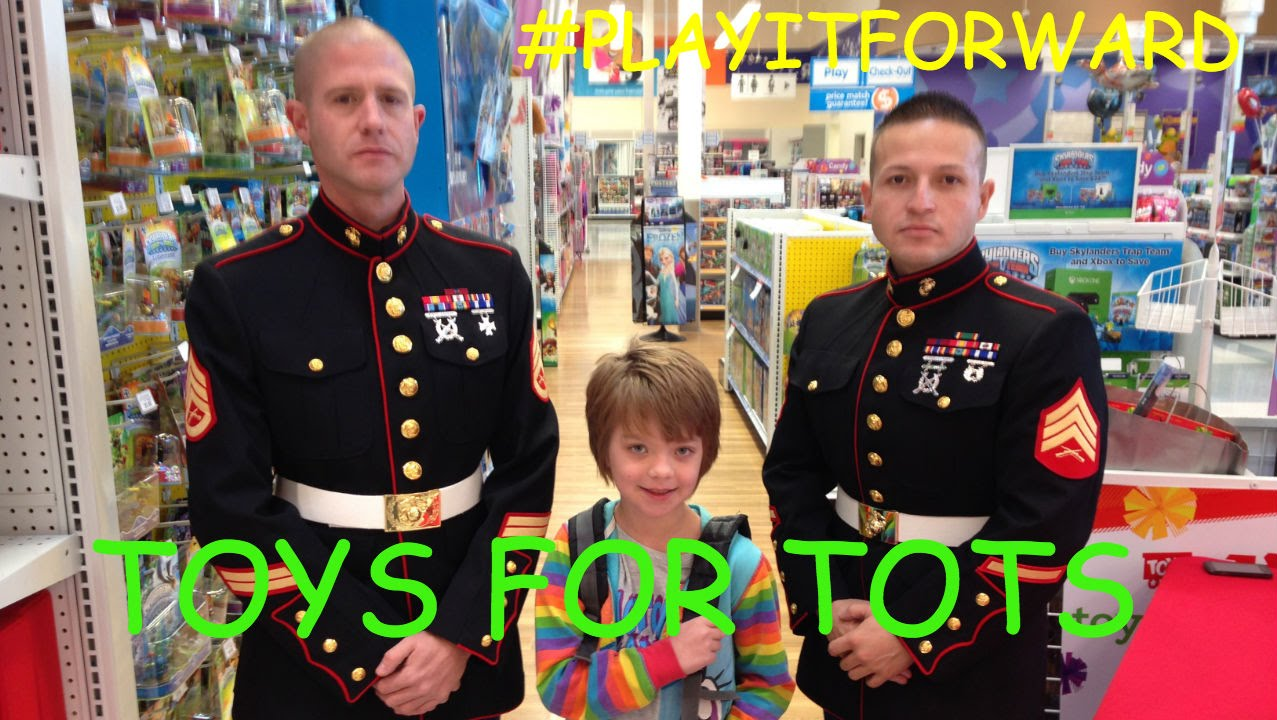 Toys For Tots Rating : Toys for tots playitforward at r us day