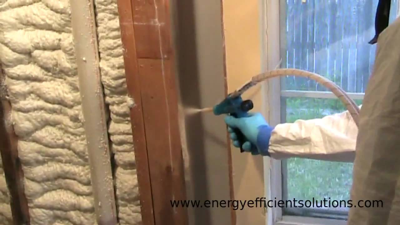 Closed Cell Spray Foam Insulation Youtube