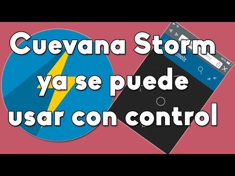 Actualización de Cuevana Storm Ya se puede usar con control remoto