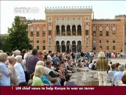 Sarajevo marks 100th anniversary of WWI