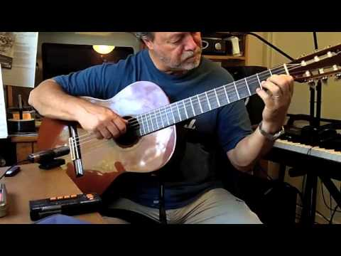 Waltz for Debbie arr by Ralph Towner cover played by Brian Saxby