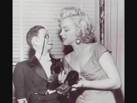 marilyn monroe - Edgar Bergen-Charli Mccarthy radio show 1952