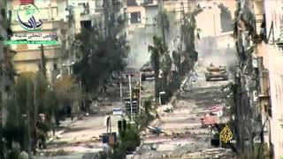المعارضة السورية تعلن تقدمها في جبهة داريا