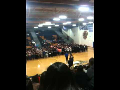 Awards Ceremony  Winter Drumline 2012 Competition Championships @ Sierra Vista High School
