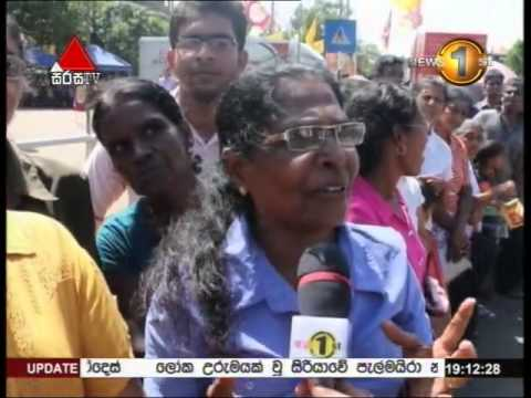 News 1st Prime time 7PM  Sirasa TV 21st May 2015