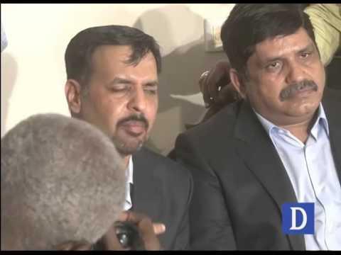 Mustafa Kamal press conference in Karachi