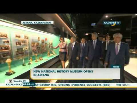 New national history museum opens in Astana