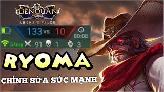 [Kgame 69] Hiệp sĩ cụt tay RYOMA bị giảm sức mạnh ở phiên bản mới thông sẽ yếu đi | Liên quân mobile