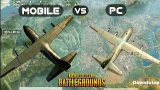 Player Unknown's Battlegrounds PC vs MOBILE Gameplay