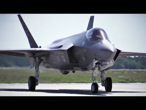 The Most Expensive Weapon Ever: $400 Billion F-35 Stealth Fighter Jet