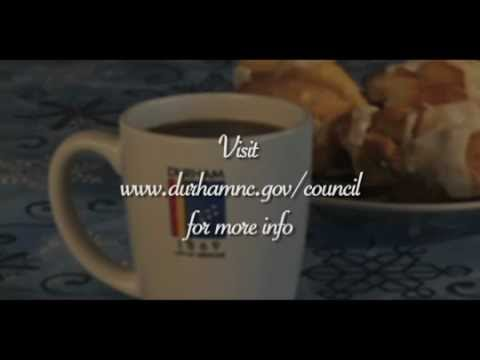 Coffee with Council Promo 2013
