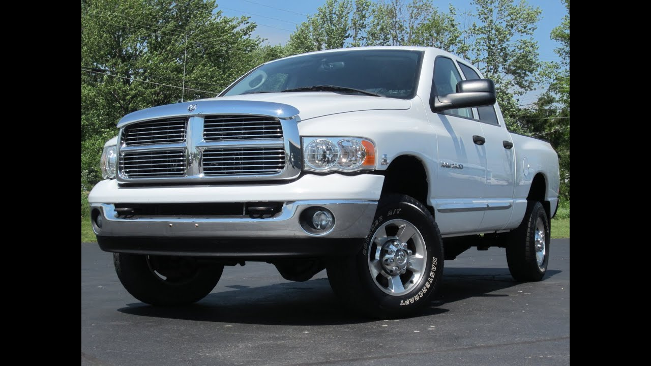 2005 dodge ram 2500 laramie 4x4 5 9l diesel 99k miles sold youtube. Black Bedroom Furniture Sets. Home Design Ideas