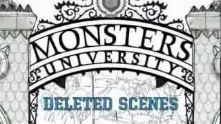 MU Bonus Features (Blu-Ray)- Deleted Scenes