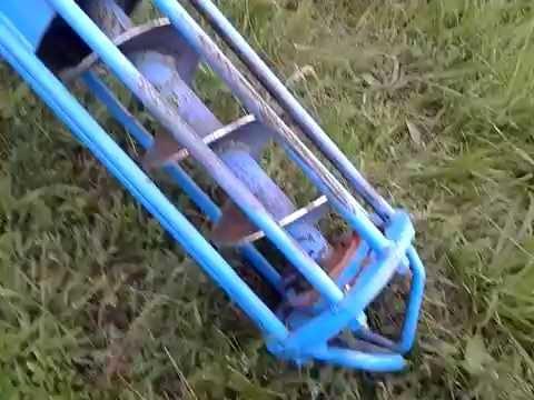 шнековий навантажувач зерна саморобний 6м