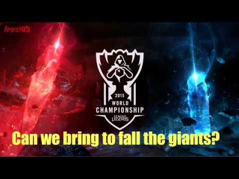 Worlds Collide: 2015 World Championship (ft. Nicki Taylor) | LYRICS - League of Legends