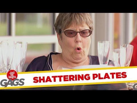 Pohártörés * Shattering Plates Prank