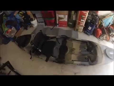 New fishing kayak pt 2. Field and Stream Eagle Talon 12