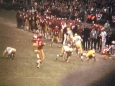 8mm Reel Transfer to DVD 1972 NFL Washington Redskins Vs. Green Bay Packers Video