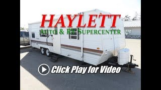 2002 Gulf Stream 27FBD Conquest Used Bunkhouse Travel Trailer