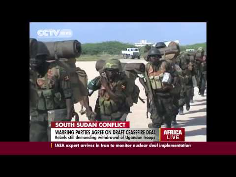 South Sudan conflict: Warring parties agree on draft ceasefire deal