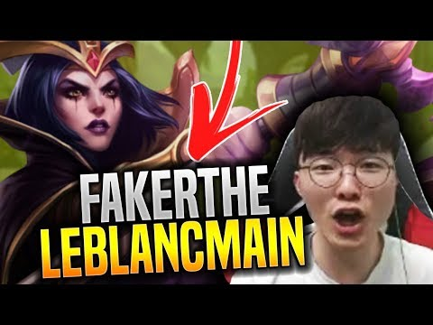 Faker Brings Back His Main! - SKT T1 Faker Plays Leblanc for New Season with New Runes! | SKT T1