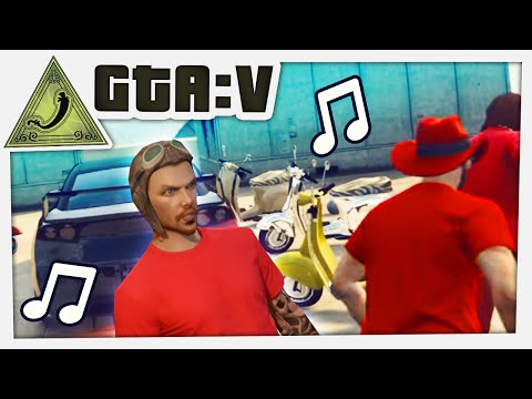 GTA 5 Funny Moments - MUSICAL FAGGIOS! (Chilluminati)