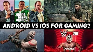 Android OR IOS For Gaming?#GS7