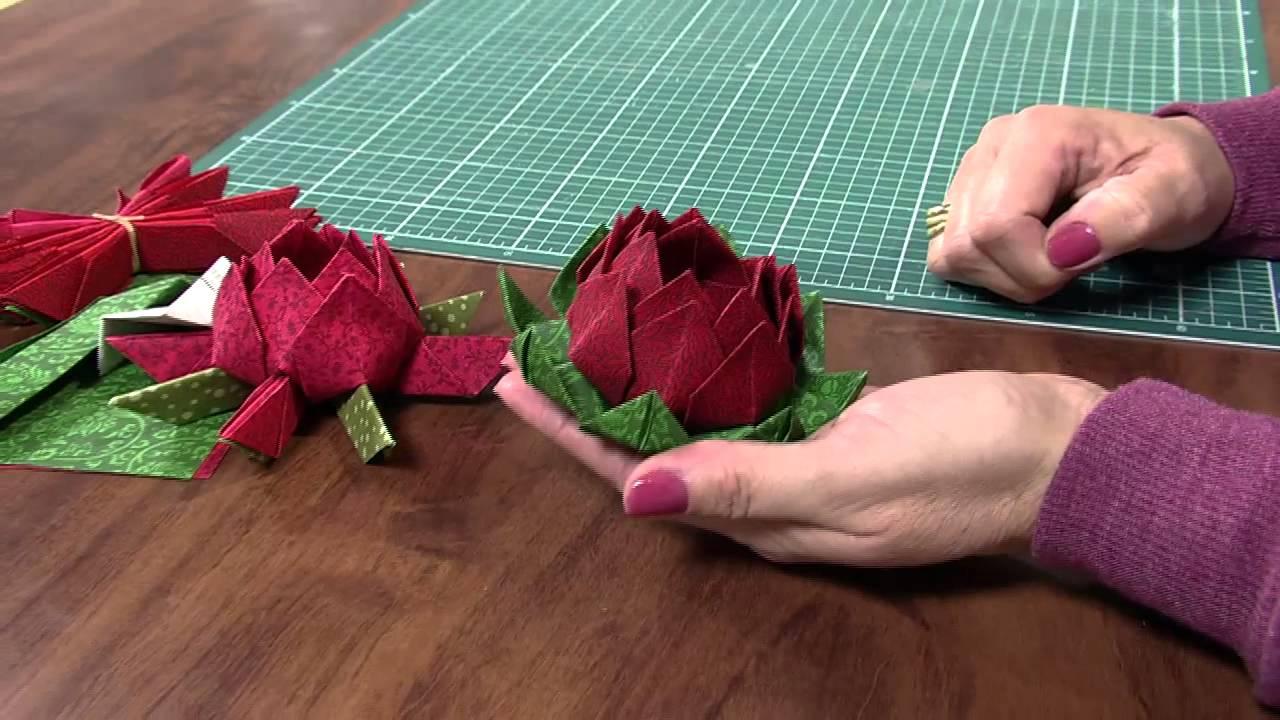 Bolsa Em Origami De Tecido : Mulher claudia niero origami em tecido