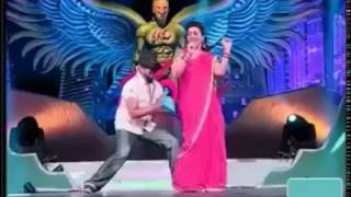 South Actress Roja on Stage Dance performance