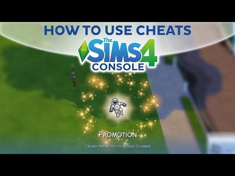 HOW TO USE CHEATS / The Sims 4 Console (PS4. Xbox One)