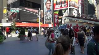 Sony HDR-XR160 test - Times Square in New York