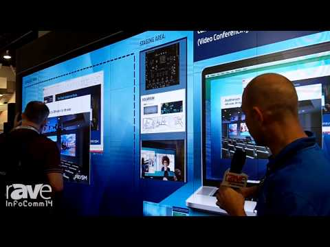 InfoComm 2014: Prysm Talks About Cascade Collaboration Video Wall